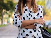Dots blazer dress
