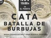 VINOS MARIDAJE: Cata «Batalla burbujas»: Jueves noviembre 2018