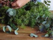 Video DIY: cómo hacer corona navidad frondosa
