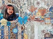 Tutorial Scrapbooking: Layout Navidad casa, Kora Projects