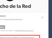 Aprende configurar privacidad Tumblr.
