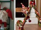 Ideas para decorar navidad usando peluches escaleras madera