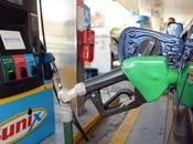 meses, combustibles bajado entre pesos galón.