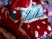 Christmas Truck Cake