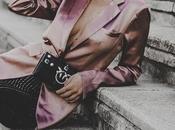 Xmas party: looks para navidad: blazer rosa satinada