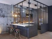 Dark Grey Open Kitchen