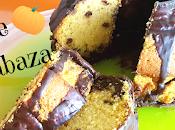 Bizcocho calabaza esponjoso,fácil rápido,con pepitas chocolate