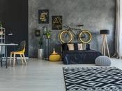 Decoración industrial minimalista