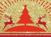 Fondo Purpurina para Hacer Postal Navidad Brillante.