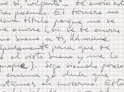 carta tres poemas) Leopoldo Alas