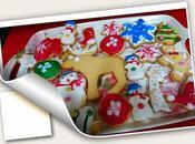 Galletas mantequilla vainilla navideñas