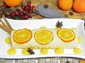 Tronco navidad naranja