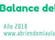 Balance blog 2018