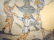 Saltator saltatrix, bailes festivos privados antigua Roma