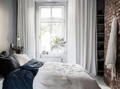 Pequeño dormitorio, gran estilo