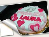 Pastel cumpleaños para laura