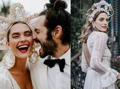 Tocados para novias invitadas especiales