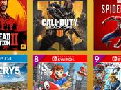 juegos vendidos GAME 2018