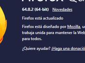 Firefox 64.0.2 encuentra disponible para descarga