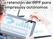 retención IRPF explicada para empresas autónomos