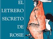 letrero secreto Rosie