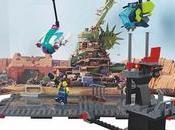 Sets LEGO película para construir escenas