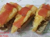Tapa queso manchego empanado