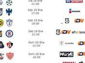 Trasmisiones jornada futbol mexicano