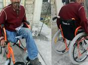 Bernardo recibió silla ruedas nueva. ¡Gracias todos!