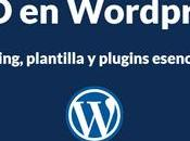 Wordpress Hosting, plantilla plugins esenciales
