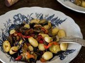 Verduras asadas para pasta