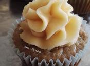 Cupcakes plátano dulce leche