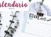 Freebie: Calendario Marzo