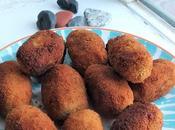 Croquetas No-Pollo cebolla caramelizada romero