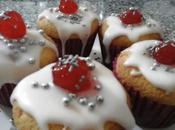 Muffins cerezas