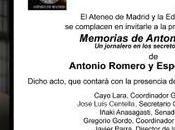Presentación-homenaje Antonio Romero