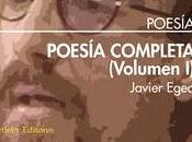 Álvaro Salvador puntualiza columna Culturamas. Sobre Poesía completa Egea