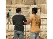 Saludos hombre egipcio