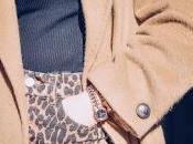 Camel coat, leopard pearls