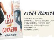 Reseña: LISTA CORAZÓN Kasie West