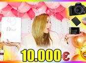 10,000 euro birthday gifts (2019)