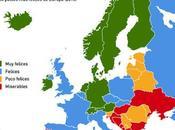 ¿Por países fríos felices?