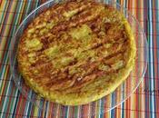 Tortilla arroz rosa pavo finas hierbas queso