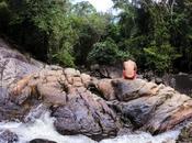 Explorando cascada Sadet, Phangan