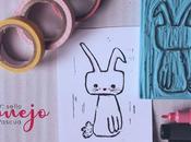 DIY: Sello conejo Pascua