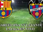 Barcelona Levante vivo Laliga