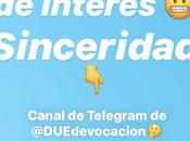 Telegram: canal comunicación curación contenidos, unes canal?
