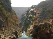 seca Cascada Tamul, grande Luis Potosí