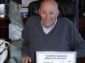Joaquín Martí homenajeado como 'Abuelo Actual' Museo Guggenheim Bilbao