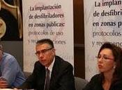 prioritario impulsar implantación desfibriladores zonas públicas, como medida para salvar vidas parada cardíaca España